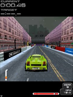 Mobil-Spiel Projekt Gotham: Rennsport 2 - Mobile Version - Screenshots. Spielszene Project Gotham racing 2 mobile.