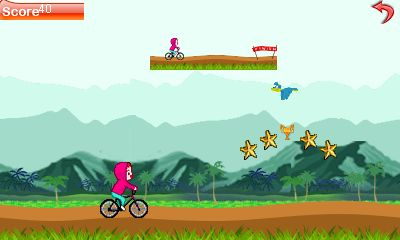 Download free game for mobile phone: Cycle run - download mobile games for free.