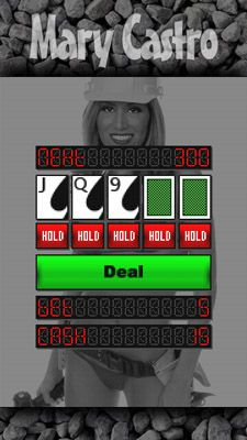 Download free game for mobile phone: Bikini video poker with Mary Castro - download mobile games for free.
