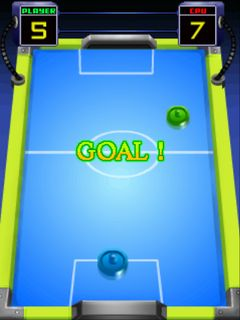 Jeu mobile Le Air Hockey - captures d'écran. Gameplay Aero hockey.