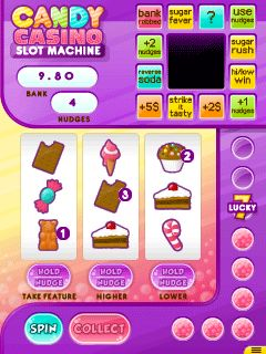 Download free mobile game: Candy casino: Slot machine - download free games for mobile phone.