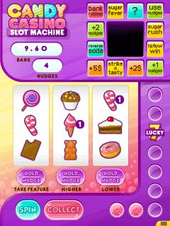 Mobile game Candy casino: Slot machine - screenshots. Gameplay Candy casino: Slot machine.