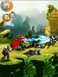 Download free mobile game: Thor: The dark world - download free games for mobile phone.