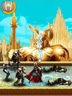 Thor: The dark world手机游戏- 截图。Thor: The dark world游戏。