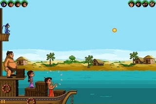Download free mobile game: Chhota Bheem: Pirate attack - download free games for mobile phone.