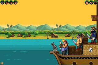 Download free game for mobile phone: Chhota Bheem: Pirate attack - download mobile games for free.