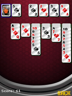 Download free game for mobile phone: Solitaire pro - download mobile games for free.
