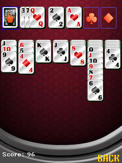 Mobile game Solitaire pro - screenshots. Gameplay Solitaire pro.