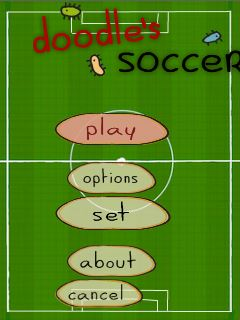 Download free mobile game: Doodle's soccer - download free games for mobile phone.