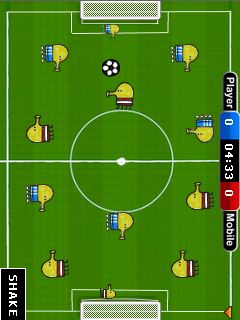 Download free game for mobile phone: Doodle's soccer - download mobile games for free.