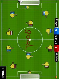 Mobile game Doodle's soccer - screenshots. Gameplay Doodle's soccer.