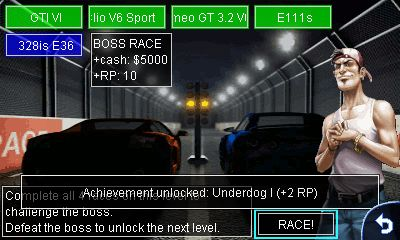 Mobile game Drag racing - screenshots. Gameplay Drag racing.