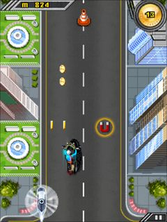 Download free mobile game: Dhoom 3: The game - download free games for mobile phone.