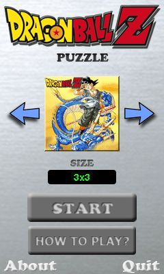 Download free mobile game: Dragon ball Z: Puzzle - download free games for mobile phone.