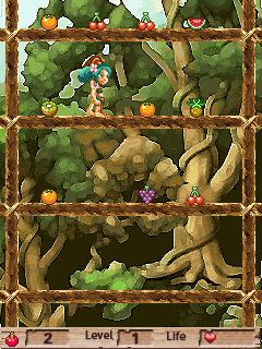 Mobile game Big battle to save the orchard - screenshots. Gameplay Big battle to save the orchard.