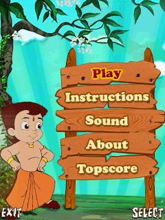 Download free mobile game: Chhota Bheem and the throne of Bali - download free games for mobile phone.