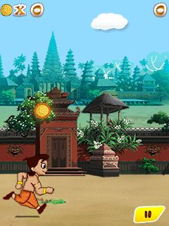 Скріншот java гри Chhota Bheem and the throne of Bali. Ігровий процес.