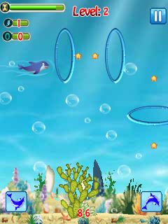 Download free game for mobile phone: The dolphin stunt - download mobile games for free.
