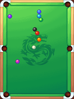 Download free game for mobile phone: Billiards girl - download mobile games for free.