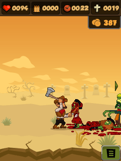 Download free mobile game: Zombie chase 2 - download free games for mobile phone.