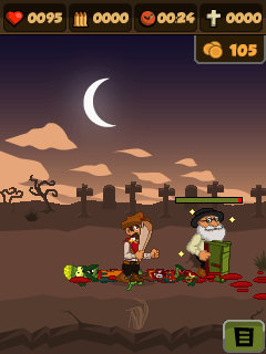 Download free game for mobile phone: Zombie chase 2 - download mobile games for free.