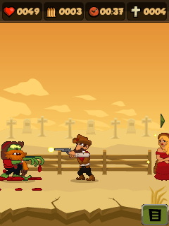 Mobile game Zombie chase 2 - screenshots. Gameplay Zombie chase 2.