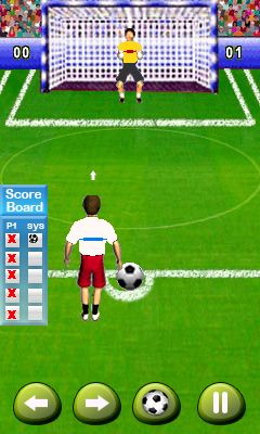 Download free game for mobile phone: Football fever - download mobile games for free.