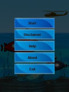 Download free mobile game: War with submarines - download free games for mobile phone.