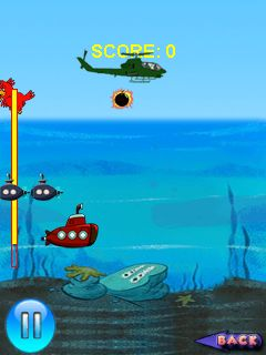 Download free game for mobile phone: War with submarines - download mobile games for free.