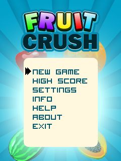 Download free mobile game: Fruit crush - download free games for mobile phone.