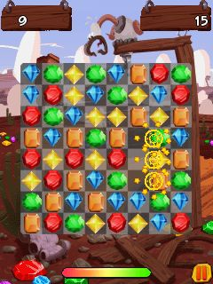 Download free game for mobile phone: Jewel clash - download mobile games for free.