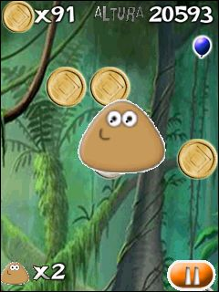 Jeu mobile Pou - captures d'écran. Gameplay Pou.