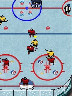 Mobile game KHL 2013 - screenshots. Gameplay KHL 2013.