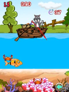 Mobile game Hungry cat: Where is my food? - screenshots. Gameplay Hungry cat: Where is my food?.