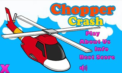 Download free mobile game: Chopper crash - download free games for mobile phone.