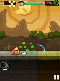 Mobile game Legend vs zombies - screenshots. Gameplay Legend vs zombies.