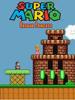 Download free Super Mario rescue princess - java game for mobile phone. Download Super Mario rescue princess