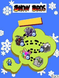 Download free mobile game: Snow bros - download free games for mobile phone.