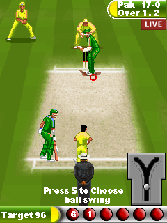 Jeu mobile Le Cricket 11 - captures d'écran. Gameplay Cricket 11.