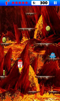 Download free game for mobile phone: Alien jump - download mobile games for free.