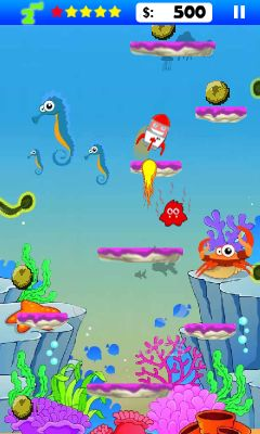 Mobile game Alien jump - screenshots. Gameplay Alien jump.