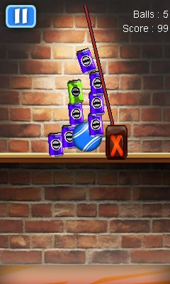 Download free mobile game: Can knockdown - download free games for mobile phone.