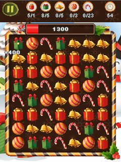 Download free game for mobile phone: Xmas crush saga - download mobile games for free.