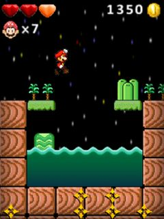 😝 Super mario bros java 320x240 | Super Mario Bros en Java