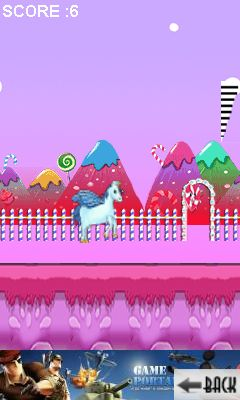 Download free game for mobile phone: Unicorn runner - download mobile games for free.