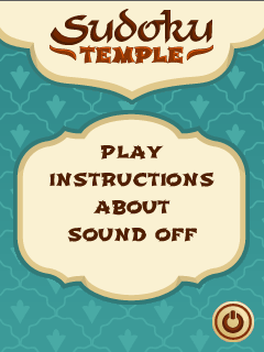 Download free mobile game: Sudoku temple - download free games for mobile phone.