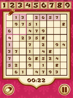 Download free game for mobile phone: Sudoku temple - download mobile games for free.