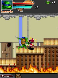 Download free mobile game: TMNT: Ninja Rua - download free games for mobile phone.