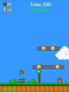 Download free mobile game: Super Mario: Mushrooms - download free games for mobile phone.