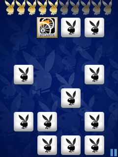 Mobil-Spiel Playboy: Matchbook - Screenshots. Spielszene Playboy: Matchbook.